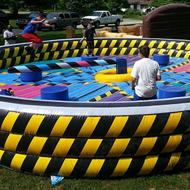 Wipeout inflatable rental chicago